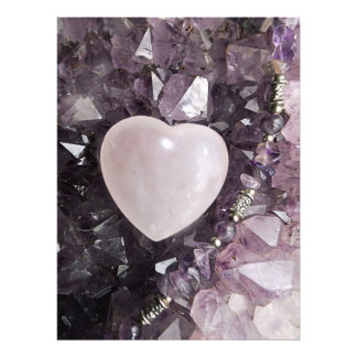 Crystal Heart Photo Print