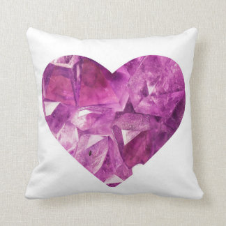 Crystal Heart Pillow