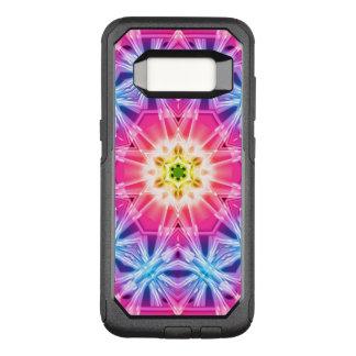 Crystal Hexagon Mandala OtterBox Commuter Samsung Galaxy S8 Case
