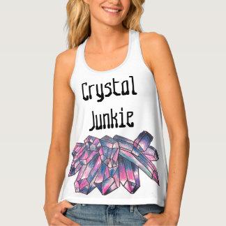 Crystal Junkie Tank Top