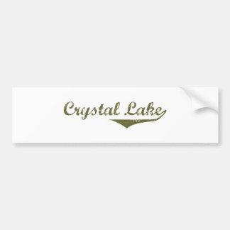 Crystal Lake Revolution t shirts Bumper Sticker
