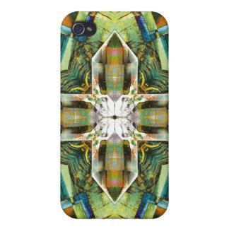Crystal Mandala 6, iPhone 4 Case