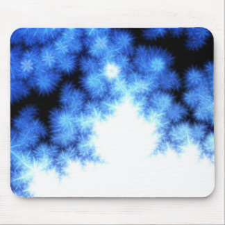 crystal mandelbrot mouse pads