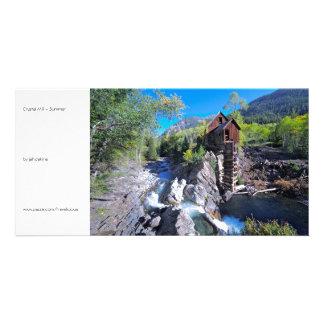 Crystal Mill - Summer Photo Greeting Card
