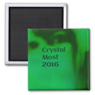 Crystal Most 2016 Square Magnet