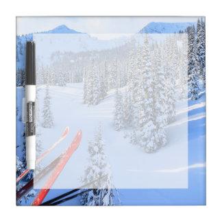 Crystal Mountain Ski Resort, near Mt. Rainier 2 Dry Erase Board