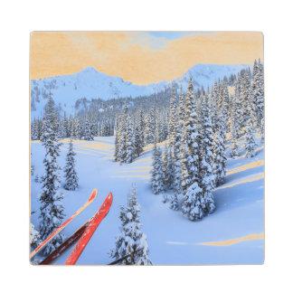 Crystal Mountain Ski Resort, near Mt. Rainier 2 Maple Wood Coaster