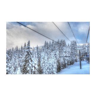 Crystal Mountain Ski Resort, near Mt. Rainier 3 Canvas Print