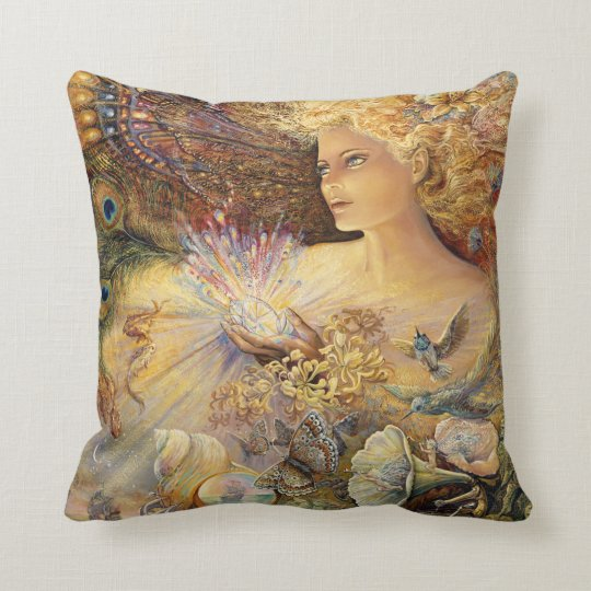 """""""Crystal of Enchantment"""" Throw Pillow"""