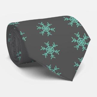 Crystal of snow tie
