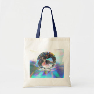 Crystal on Holograph Tote Bag