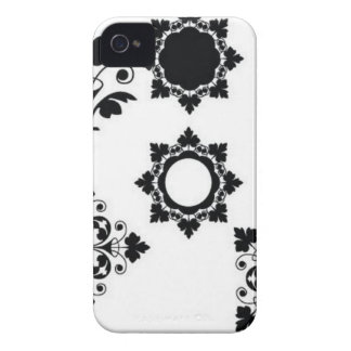 Crystal ornament iPhone 4 cover