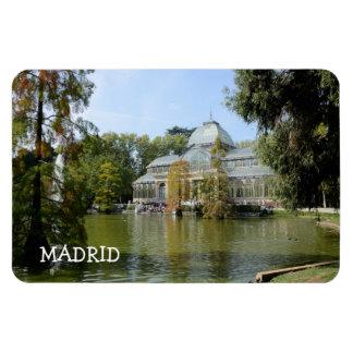 Crystal Palace, Madrid Premium Magnet