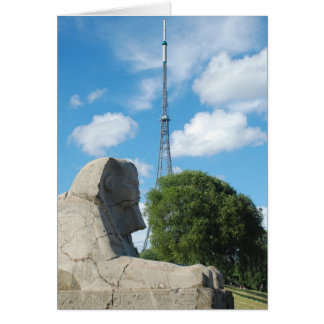 Crystal Palace Park Transmitter and Sphinx Card