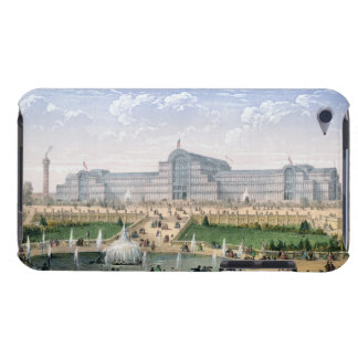 Crystal Palace, Sydenham, c.1862 (colour litho) iPod Touch Cover
