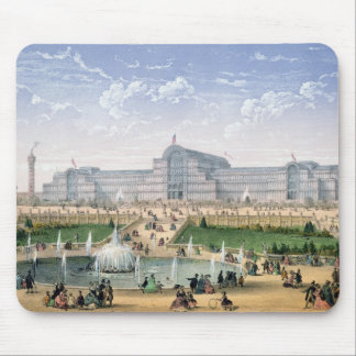 Crystal Palace, Sydenham, c.1862 (colour litho) Mouse Mat
