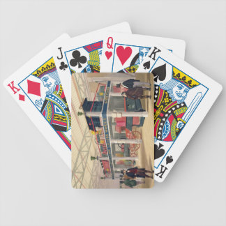 Crystal Palace, the Agricultural Court (coloured l Bicycle Playing Cards