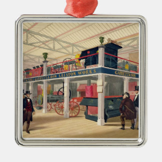 Crystal Palace, the Agricultural Court (coloured l Christmas Ornament