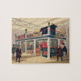 Crystal Palace, the Agricultural Court (coloured l Jigsaw Puzzle