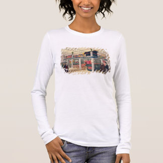 Crystal Palace, the Agricultural Court (coloured l Long Sleeve T-Shirt