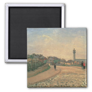 Crystal Palace, Upper Norwood (oil on canvas) Square Magnet