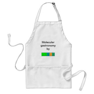 Crystal periodic table name apron