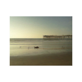 Crystal Pier Canvas Print