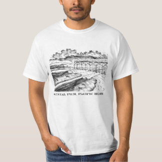 Crystal Pier, Pacific Beach T-Shirt