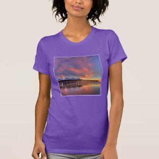 Crystal Pier Sunset T-Shirt
