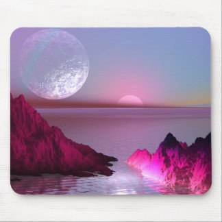 Crystal Planet Mouse Mat