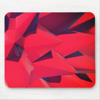 Crystal - Red Lotus II Mouse Mat