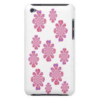 Crystal repeating pattern iPod touch cases