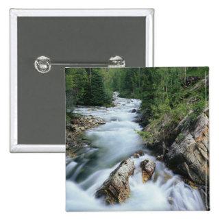 Crystal River, Gunnison National Forest, 15 Cm Square Badge