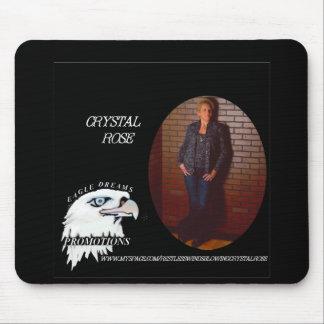 Crystal Rose s Mousepad