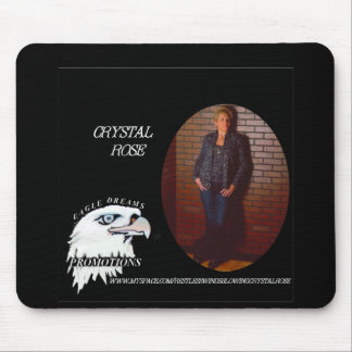 Crystal Rose's Mousepad