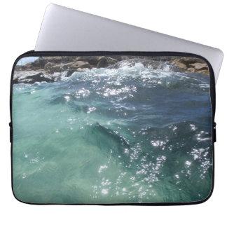 crystal sea laptop sleeve