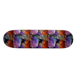 Crystal Secrets Mineral Abstract Skate Boards