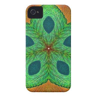 Crystal Seed Mandala iPhone 4 Cases