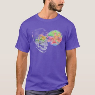 Crystal Skull DMT Pineal Alchemy T-Shirt
