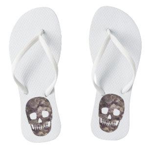 a51a58d6f311de Skull Flip Flops   Sandals