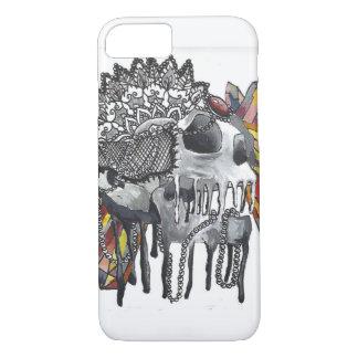 Crystal Skull Mandala iPhone 8/7 Case