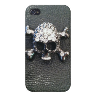 CRYSTAL SKULL PRINT IPHONE CASE iPhone 4/4S COVER