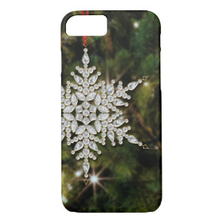 Crystal Snowflake Christmas iPhone 7 Case