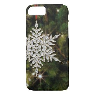 Crystal Snowflake Christmas iPhone 7 Case