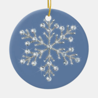 Crystal Snowflake Ornament