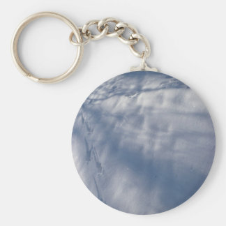 Crystal snowscene key chains