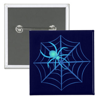 Crystal Spider 15 Cm Square Badge
