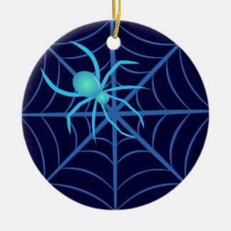 Crystal Spider Christmas Ornament