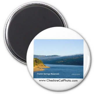 Crystal Springs Reservoir California Products Fridge Magnets