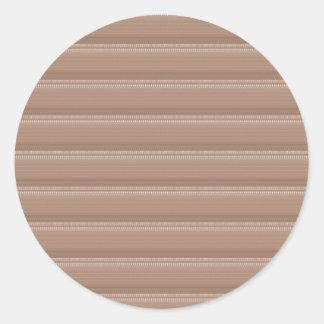 Crystal Stone Based Cream Brown Pattern NVN291 FUN Stickers
